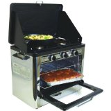 Camp Chef Camping Outdoor Oven with 2 Burner