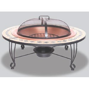 Uniflame 18 Inch Mosaic Ceramic Tile Table