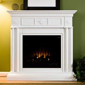 Sei Renaissance Ii Fireplace White