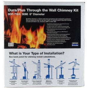 DuraPlus Through-The-Wall Chimney Kit